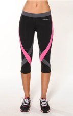 3/4 Lycra tights - 9% Supplex / 11% Spandex Zigzag 3/4 Compression Tight